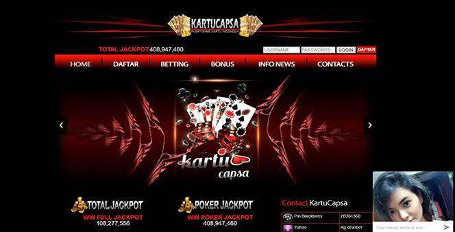 KARTUCAPSA | AGEN DOMINO QQ ONLINE | BANDAR POKER TERPERCAYA