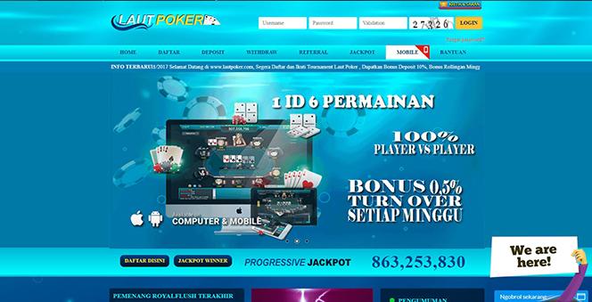 LAUTPOKER | AGEN JUDI ONLINE TERPERCAYA DAN BANDAR CEME TERBAIK DI INDONESIA