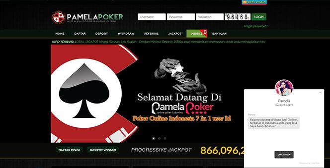 PAMELAPOKER | BANDAR JUDI CAPSA SUSUN DAN BANDAR CEME TERBAIK DI INDONESIA
