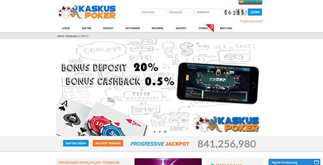 KASKUSPOKER | AGEN POKER ONLINE DAN BANDAR CEME TERPERCAYA DI INDONESIA