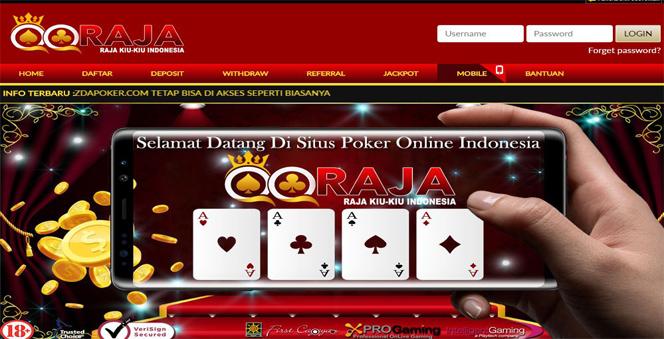 QQRAJA | AGEN JUDI ONLINE POKER DOMINO99 TERBAIK DAN TERPERCAYA INDONESIA