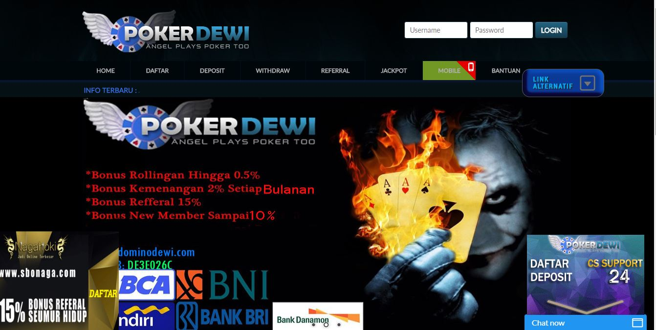 DOMINODEWI AGEN POKER DOMINO ONLINE TERBAIK